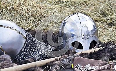 Knight s helmet