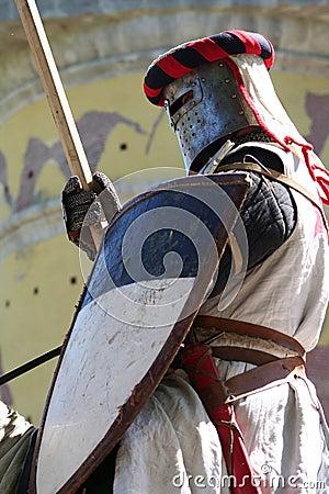 Knight Templar Editorial Stock Photo