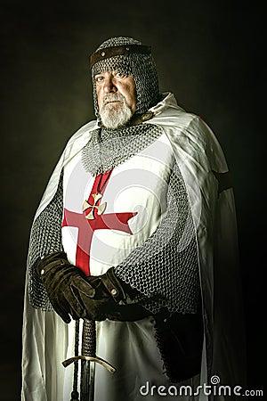 Free Knight Templar Royalty Free Stock Photos - 41291828