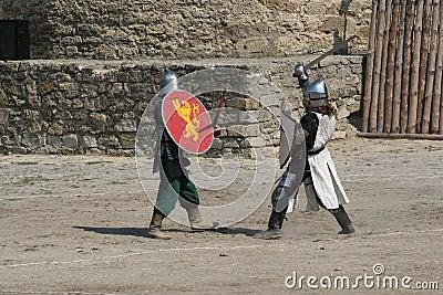 Knight tournament.
