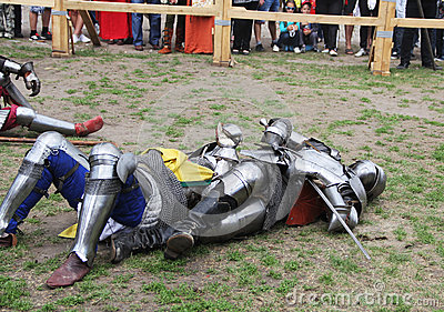 Knights Editorial Stock Photo