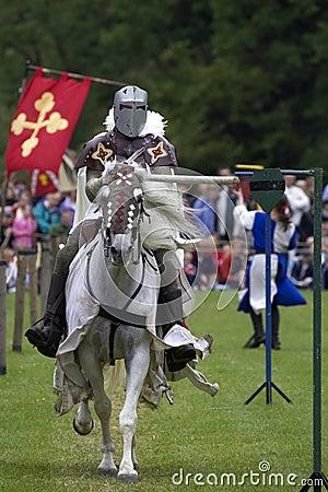 Free Knights Jousting Warwick Castle England Uk Stock Image - 205301