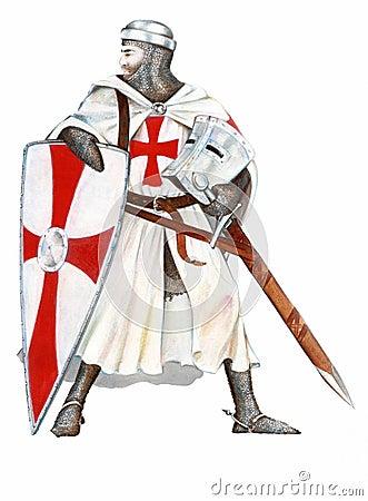 Free Knights Templar Royalty Free Stock Photos - 3531248