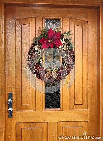 Knit Da Grinalda Do Natal Das Castanhas