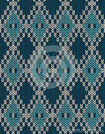 Knit woolen seamless jacquard ornament pattern