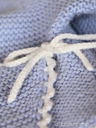 Knitted Baby Clothes Royalty Free Stock Photo – Image: 23286705