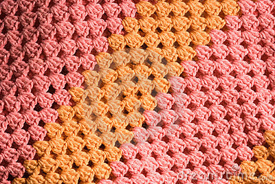 Knitted cotton background