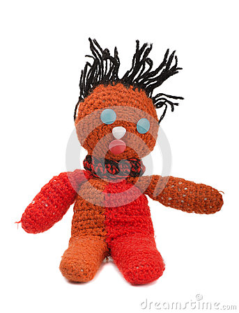 Free Knitted Doll Stock Images - 35182624