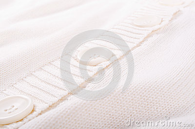Knitted white jersey texture