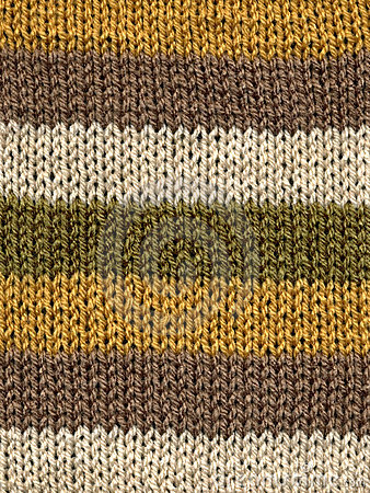 Free Knitted Wool Stripes. Stock Photo - 2304230