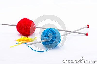 Knitting according Mondriaan