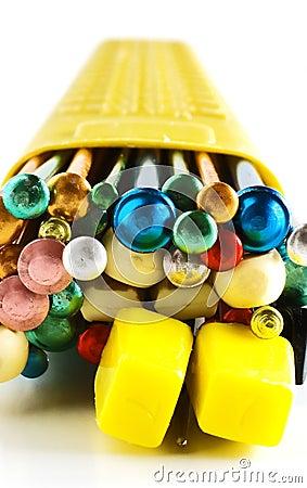 Free Knitting Needles Royalty Free Stock Photo - 5686015