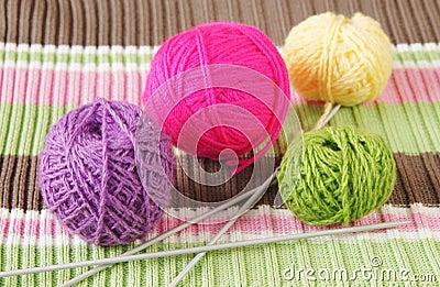 Knitting still life