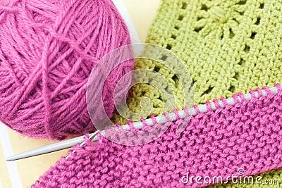 Knitwork da mão
