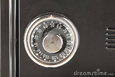Knob for mechanical combination of a safe