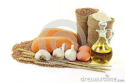Knoblauch-Brot.