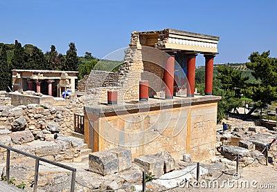 Knoss palase. Arhaeological museum open-air.