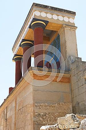 Free Knossos North Entrance 2 Stock Image - 168791