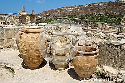 Knossos palace. Crete