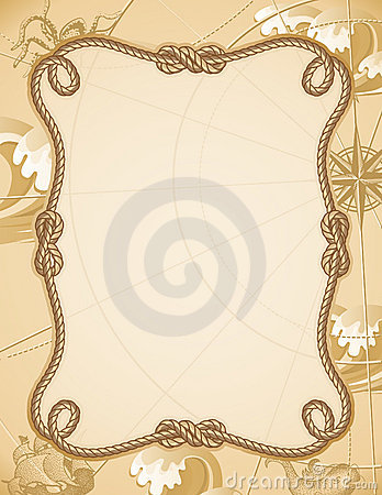 Free Knot Frame Royalty Free Stock Image - 9887606