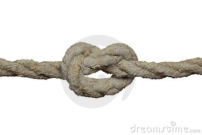 Knot on the old rope.