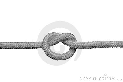 Knot on the rope.