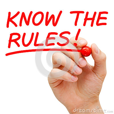 Free Know The Rules Stock Photos - 29282903