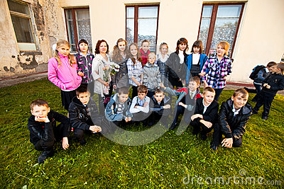 Knowledge Day in Russia Editorial Image