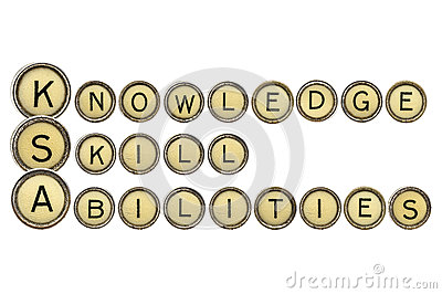 Knowledge, Skills, And Abilities Stock Photo - Image: 50108559