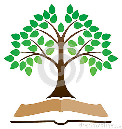 Free Knowledge Tree Book Logo Royalty Free Stock Image - 32842606