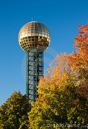 Knoxville Sunsphere Stock Images - Image: 11539404