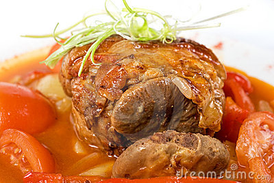 Knuckle of veal