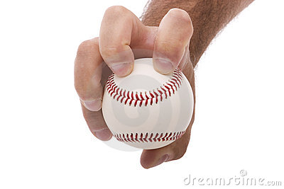 how to hold baseball pitches