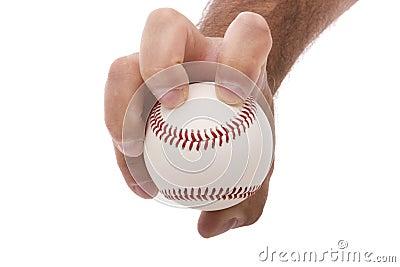 Knuckleball baseball pitching grip