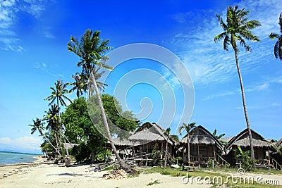 Ko Pha Ngan beach scene, Thailand