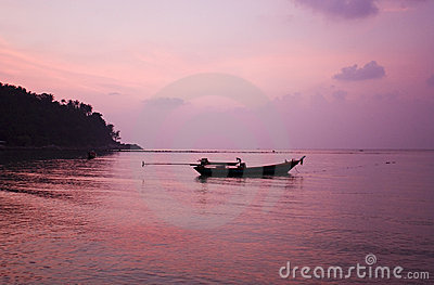 Ko Pha Ngan sunset