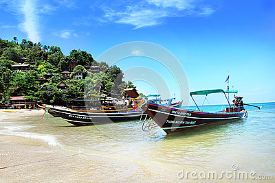 Ko phangan fishing boat