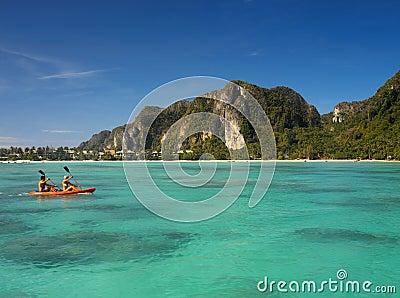 Ko Phi Phi Island - Thailand Editorial Stock Image