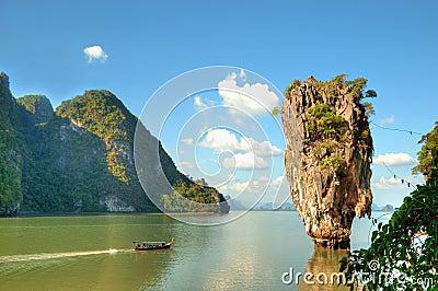 Ko Tapu island in Thailand