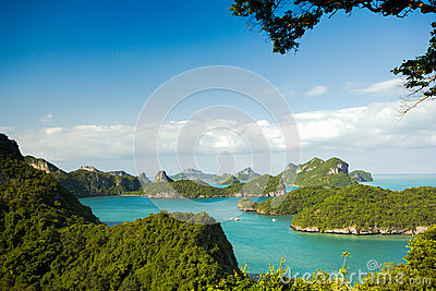 Ko Wua Talab in Mu Ko AngThong Marine National Park Viewpoint,Sa