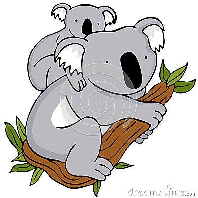 Koala Bear Mom