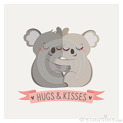 Free Koala Hug Royalty Free Stock Photography - 65153417