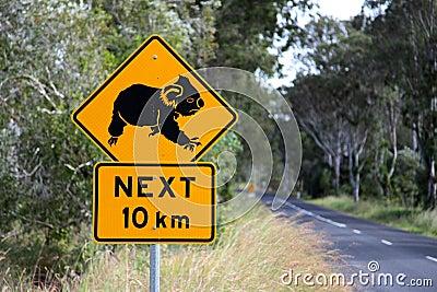 Koala sign