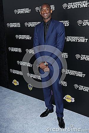 Kobe Bryant Editorial Image