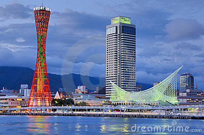 Kobe, Japan Editorial Stock Image