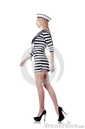 Kobieta żeglarz