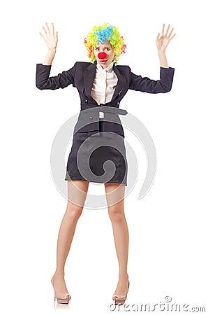 Kobieta błazen