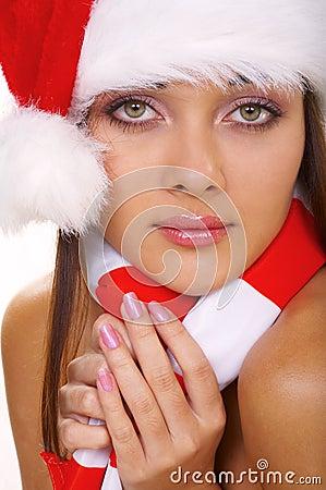 Kobieta christmass