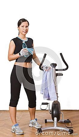 Kobieta fizycznej fitness