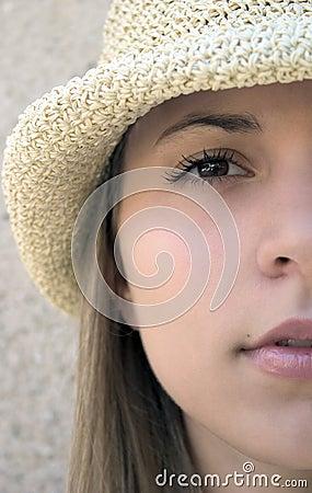 Kobieta hat
